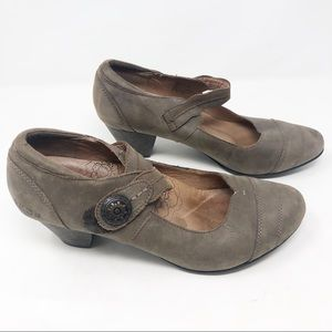 Taos Angelica Mary Jane leather heels